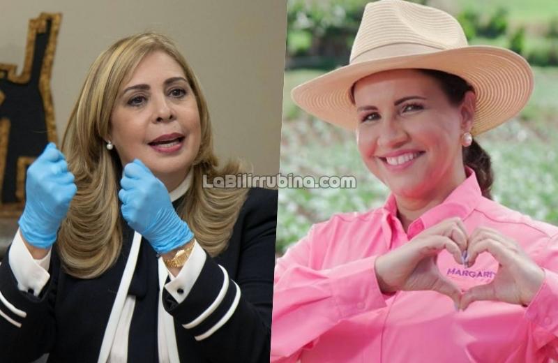 Sergia Elena Mejía de Séliman y Margarita Cedeño