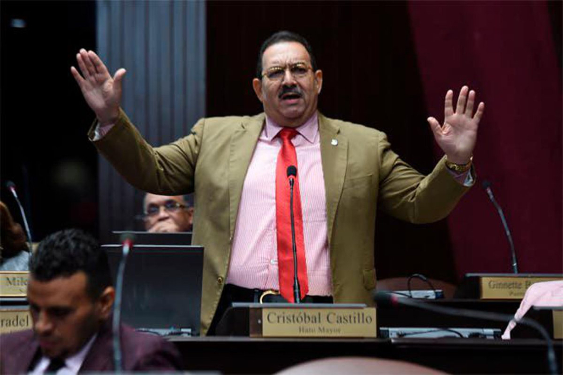 Cristóbal Castillo, senador de la provincia Hato Mayor