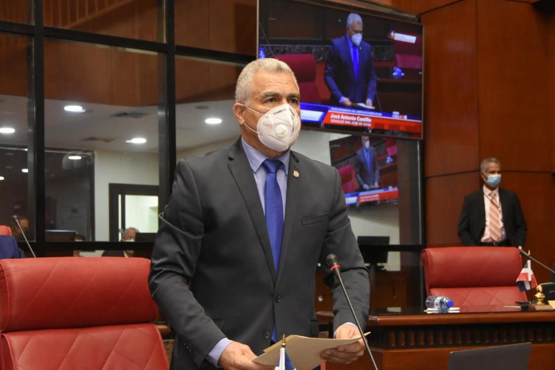 El senador de Ocoa, José Antonio Castillo