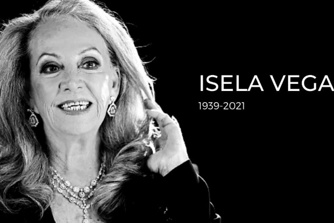 Isela Vega, actriz mexicana de cine y televisión