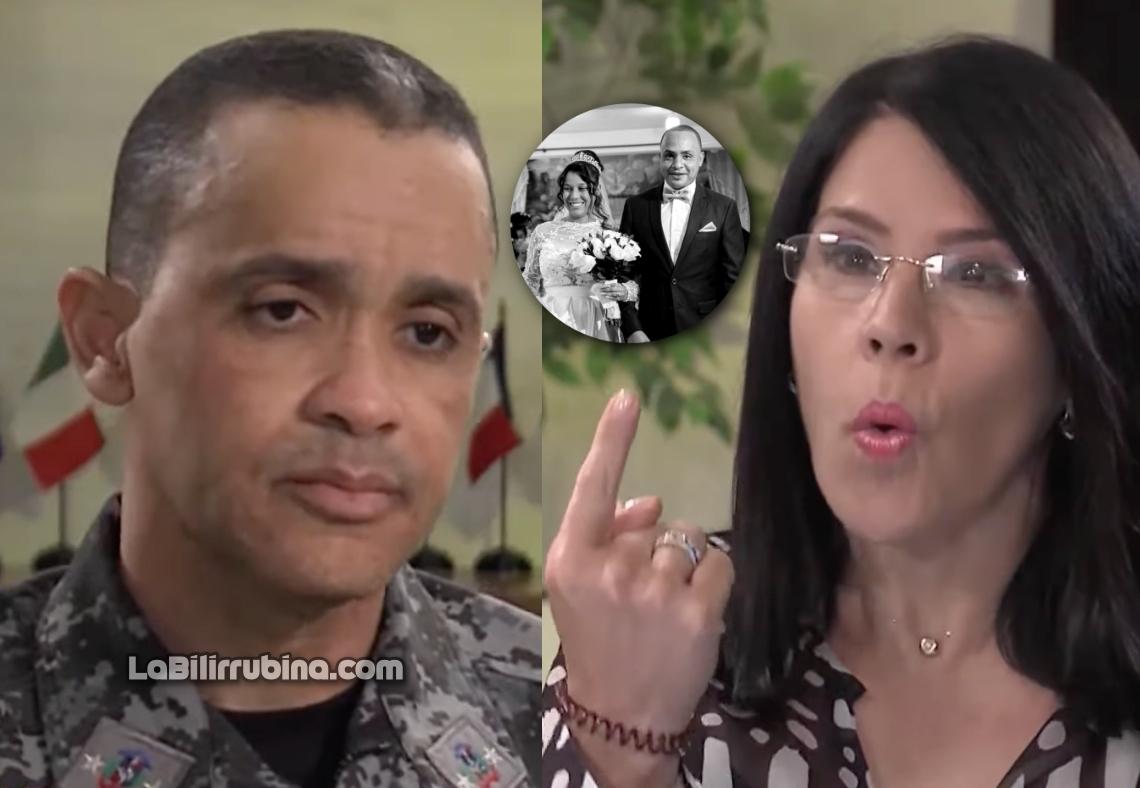 Edward Sánchez González y Alicia Ortega