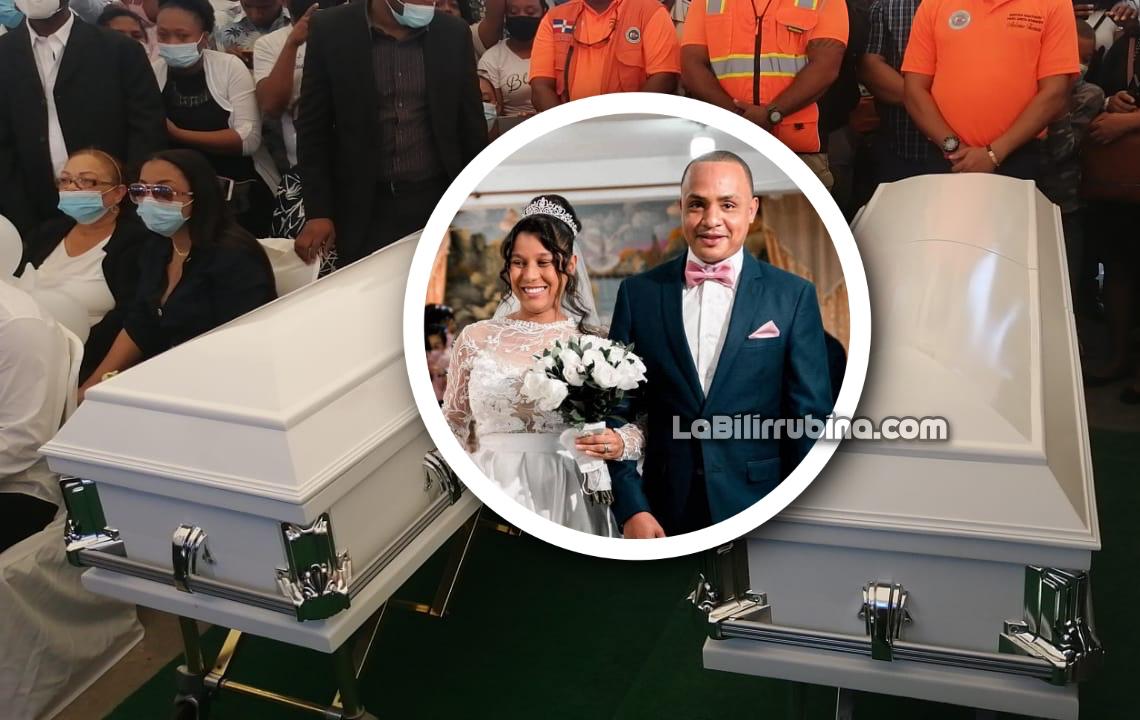 Los restos de Elisa Muñoz Marte y Joel Díaz