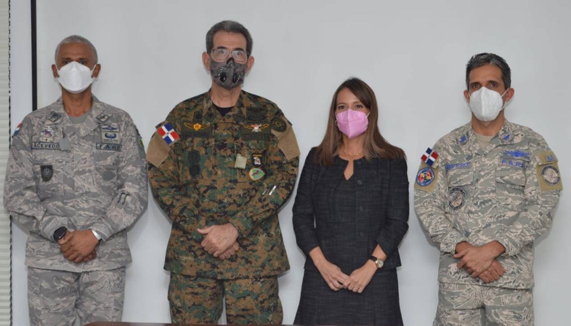 Carlos Luciano Diaz Morfa, Roberto Acevedo Tejada, Juan Carlos Torres Robiu y Patricia Mejía